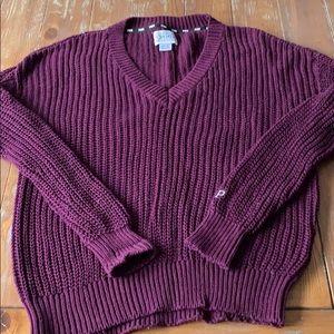 VS PINK heritage fisherman sweater